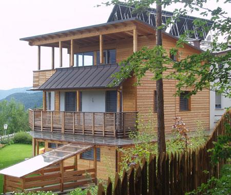 Ecologia e confort casa in legno casa clima alto adige for Costruire ecologico