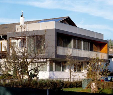 Cheap interni ed esterni casa in legno casa clima alto for Opzioni materiale esterno casa