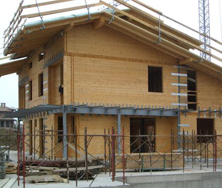 Costruire con il legno casa in legno casa clima alto for Case in legno senza fondamenta